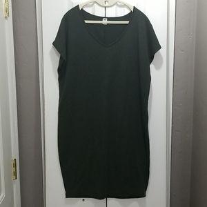 Dark Olive Green Old Navy Tunic Dress - sz. M